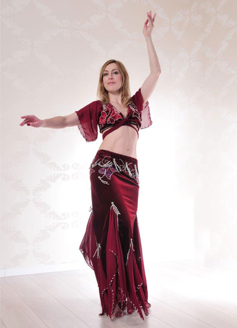 Essence of Bellydance teacher Wiebke from Munich & Mexico