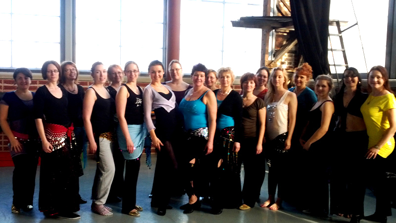 Bellydance workshops with Coco in Finland
