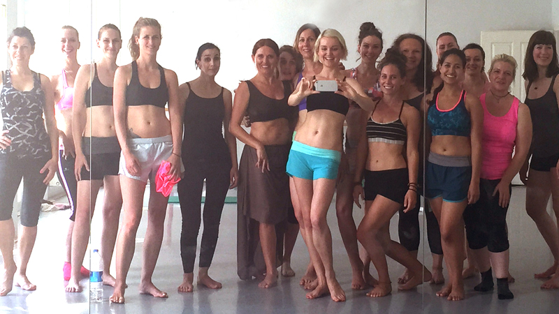 Essence of Bellydance teacher training class of 2015