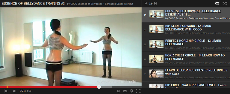 Beginner bellydance class: tilting, omis, afros and vertical hip circleswith pelvic floor integration