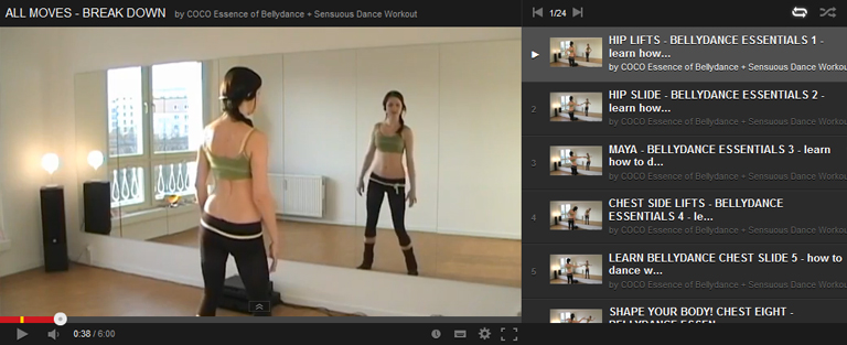 Bellydance for beginners: all Bellydance moves step by step instruction
