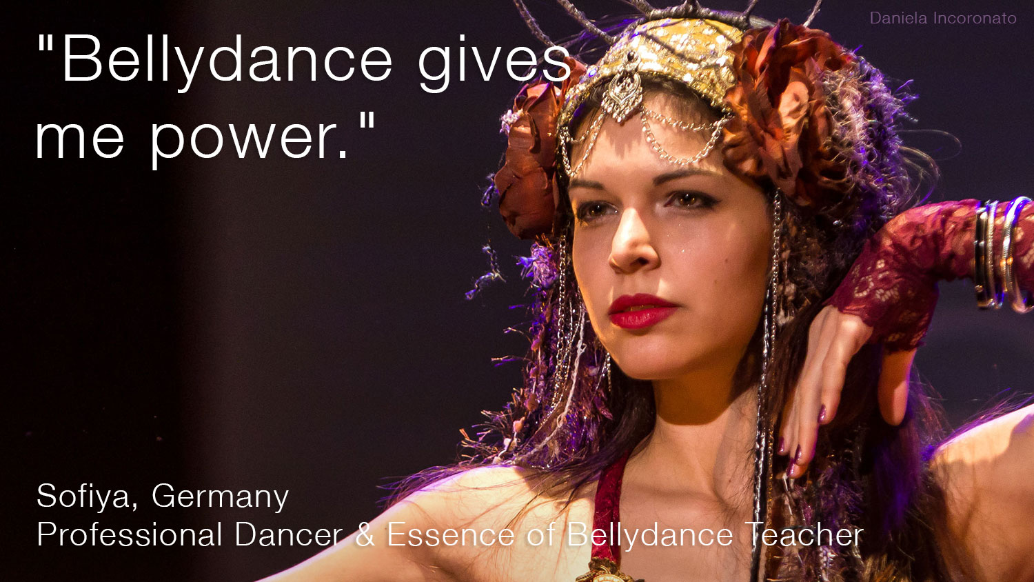 Bellydance Teacher Training - Professional Bellydancer and Bellydance Teacher Sofiya from Berlin